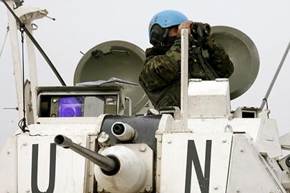 СМИ анонсировали ввод миротворцев ООН