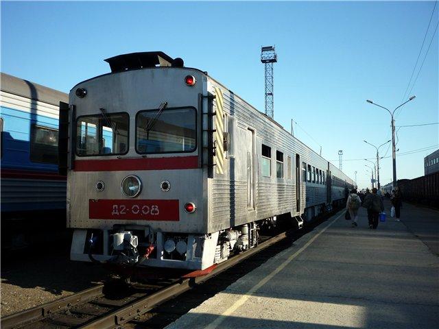 Остров Сахалин. Железнодорожный.