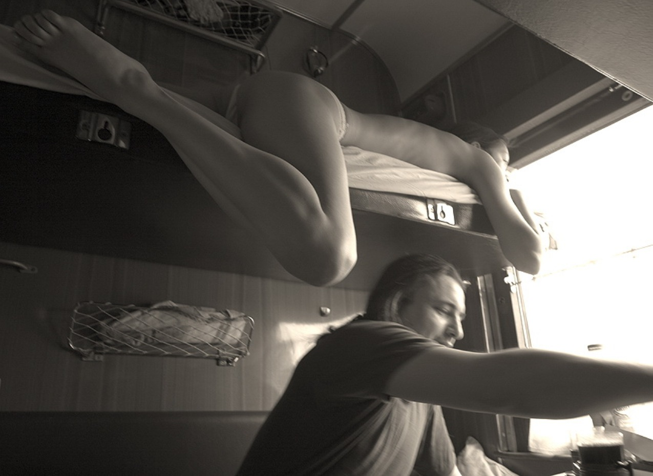 Секс история про поезд 3 фотография