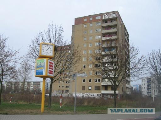 Брошеные дома по немецки