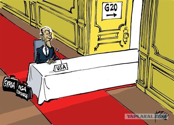Американская политическая карикатура - Сирия
