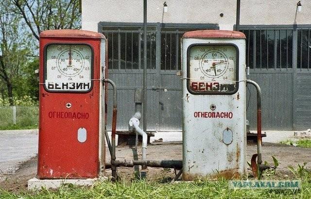 Реставрация старой бензоколонки своими руками