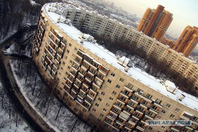 Московский 'Бублик' или история круглого дома