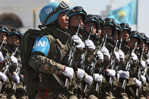 Глава МИД Германии призвал ввести вооруженных миротворцев в Донбасс