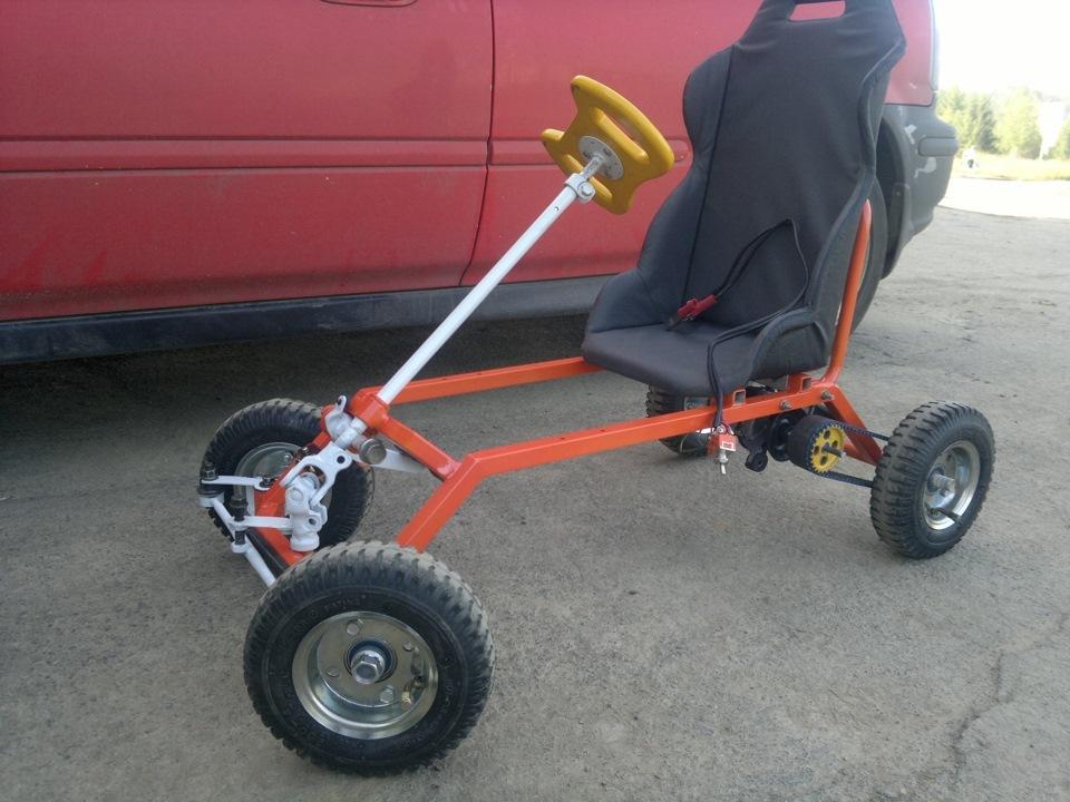 Электромобиль своими руками для ребёнка