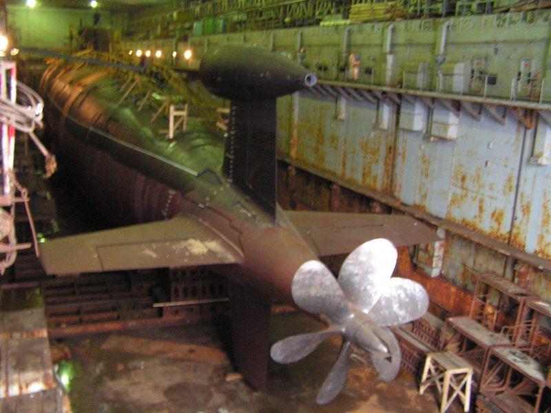 гребные винты атомных подводных лодок