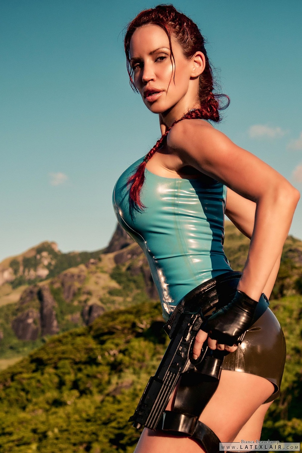 Lara croft underground latex mod xxx movie