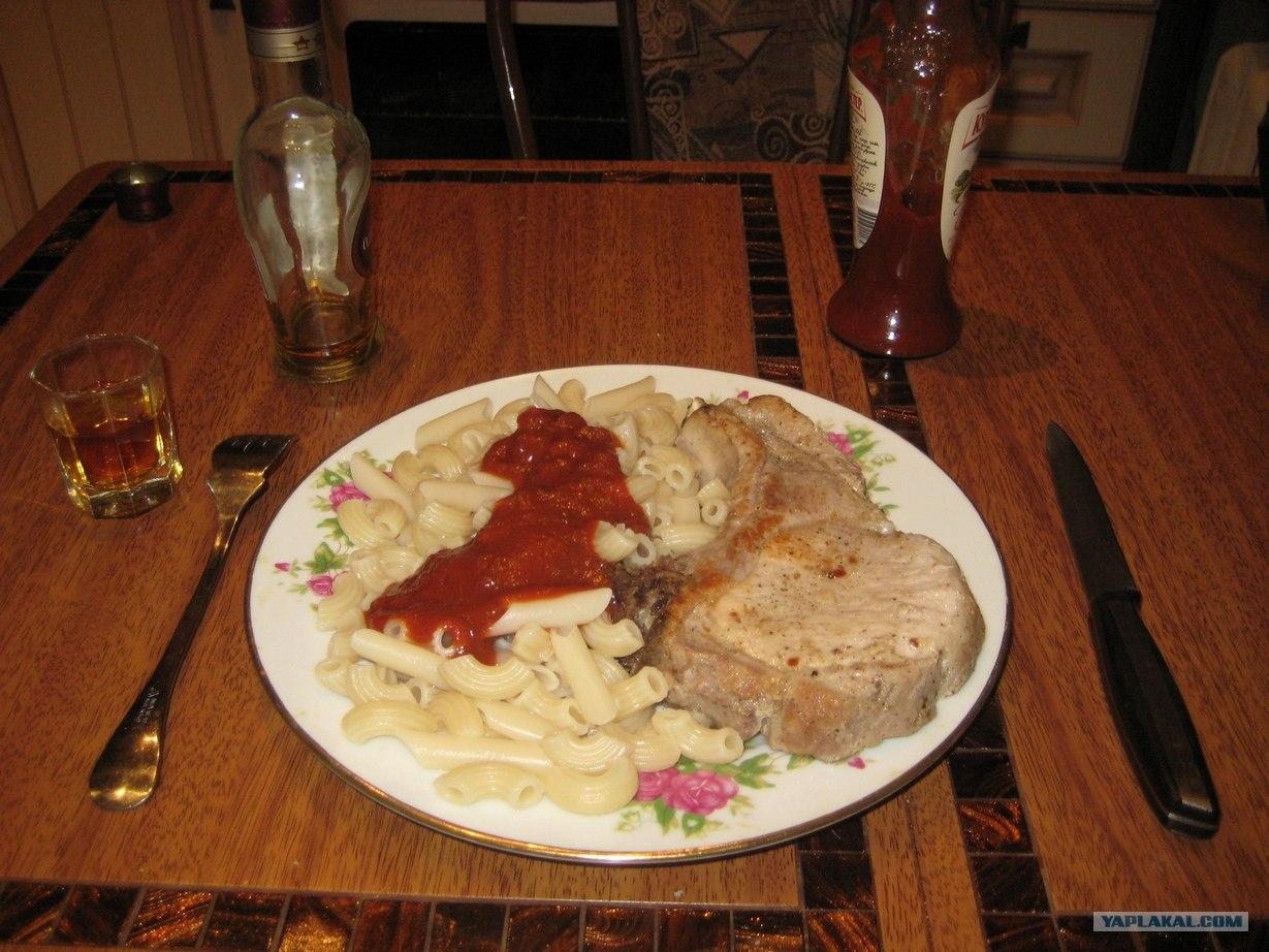 Ужин холостяка рецепты