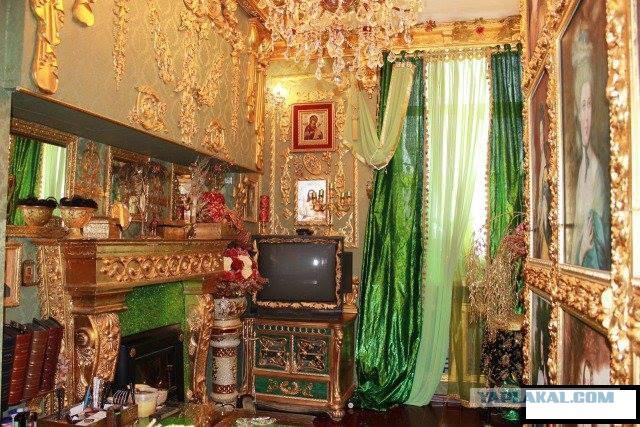 Интерьер квартиры в Магадане! Богато!