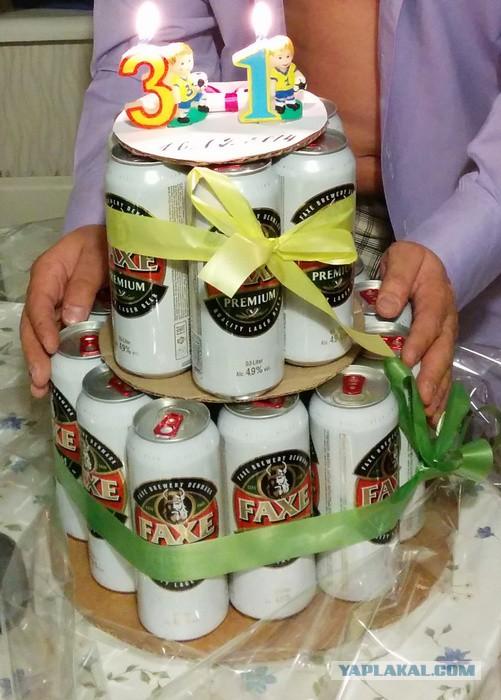 Идея для подарка на день рождения мужу своими руками фото
