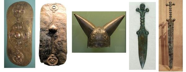 Лучшее - в дар богам. Доспехи и оружие древних кельтов.