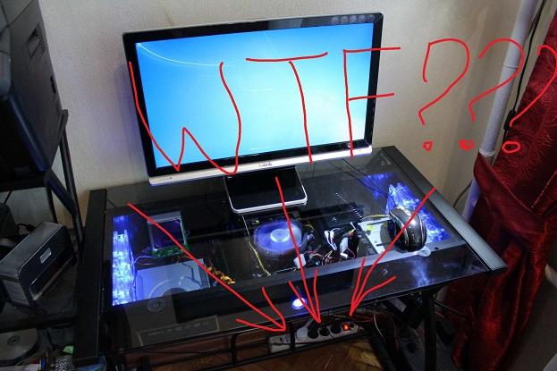 Компьютерный стол корпус