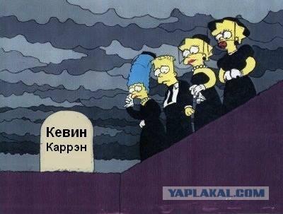 "Умер сценарист ""Симпсонов"""