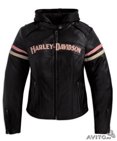 Оригинальная кожаная куртка Harley Davidson