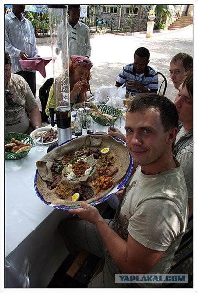 Все что нужно знать про еду в Эфиопии (13 фото)