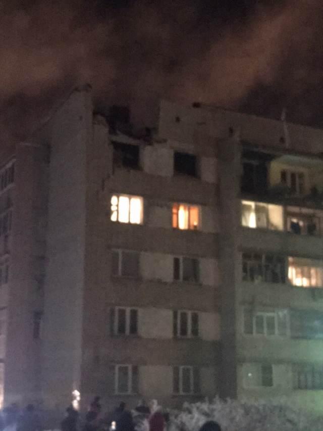 В жилом доме Вологды произошел взрыв бытового газа