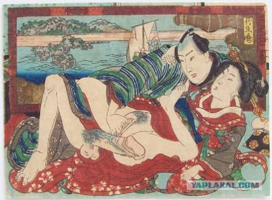 Сюнга - одно из направлений японской ксилографии, изображающее эротические