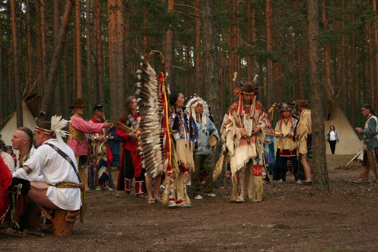 Фото праздник у индейцев 3