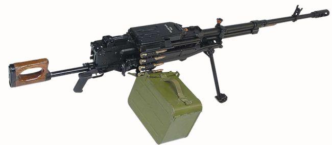 пулеметы Корд используются
