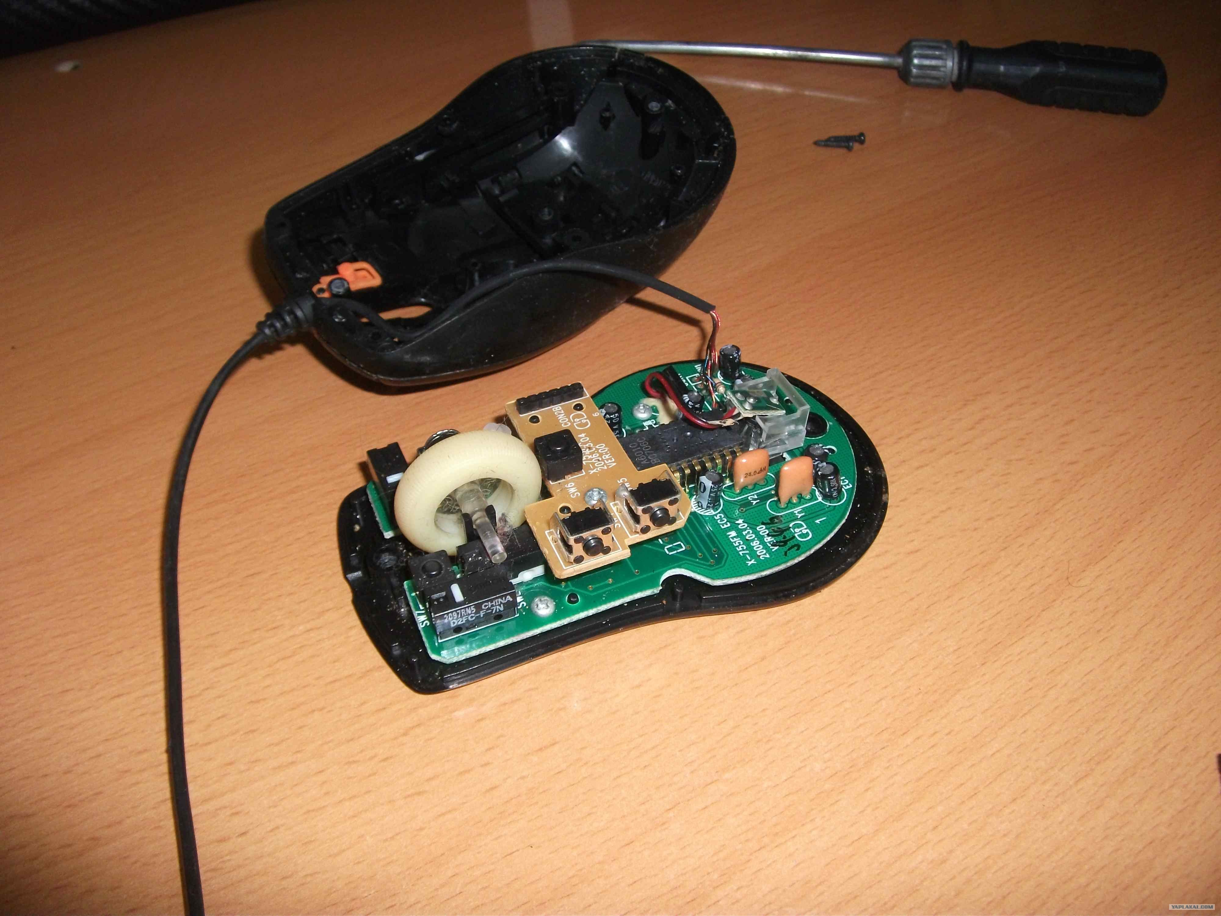 Мышка ремонт своими руками