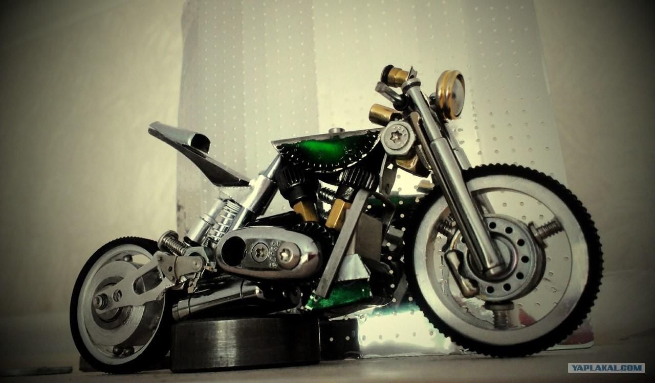 Модели мотоцикла своими руками