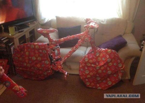 О том, как сохранить интригу подарка.