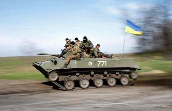 Украинские военные задавили 8-летнюю девочку