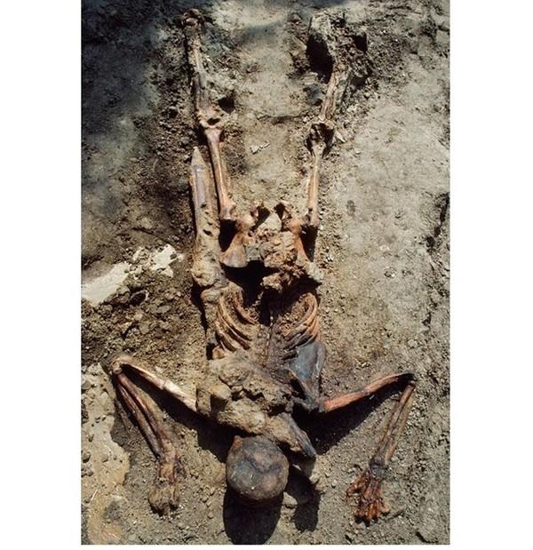 Смерть легионера. Скелеты и мумии.7.