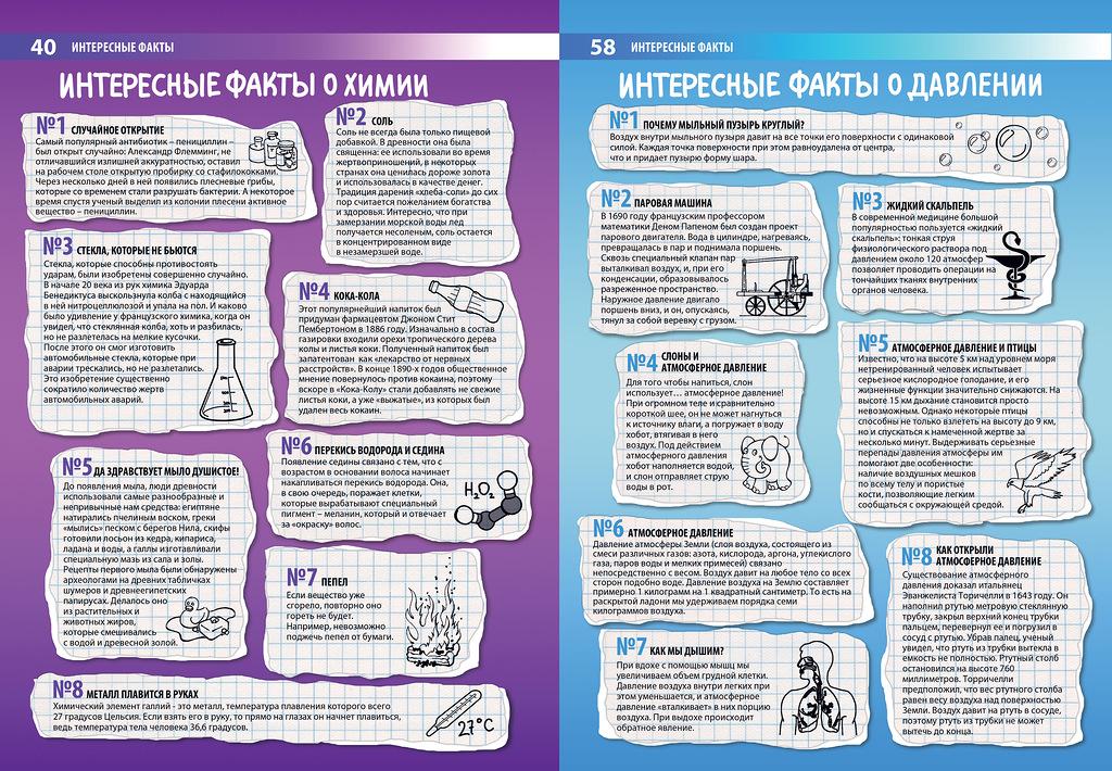в факты по картинках химии