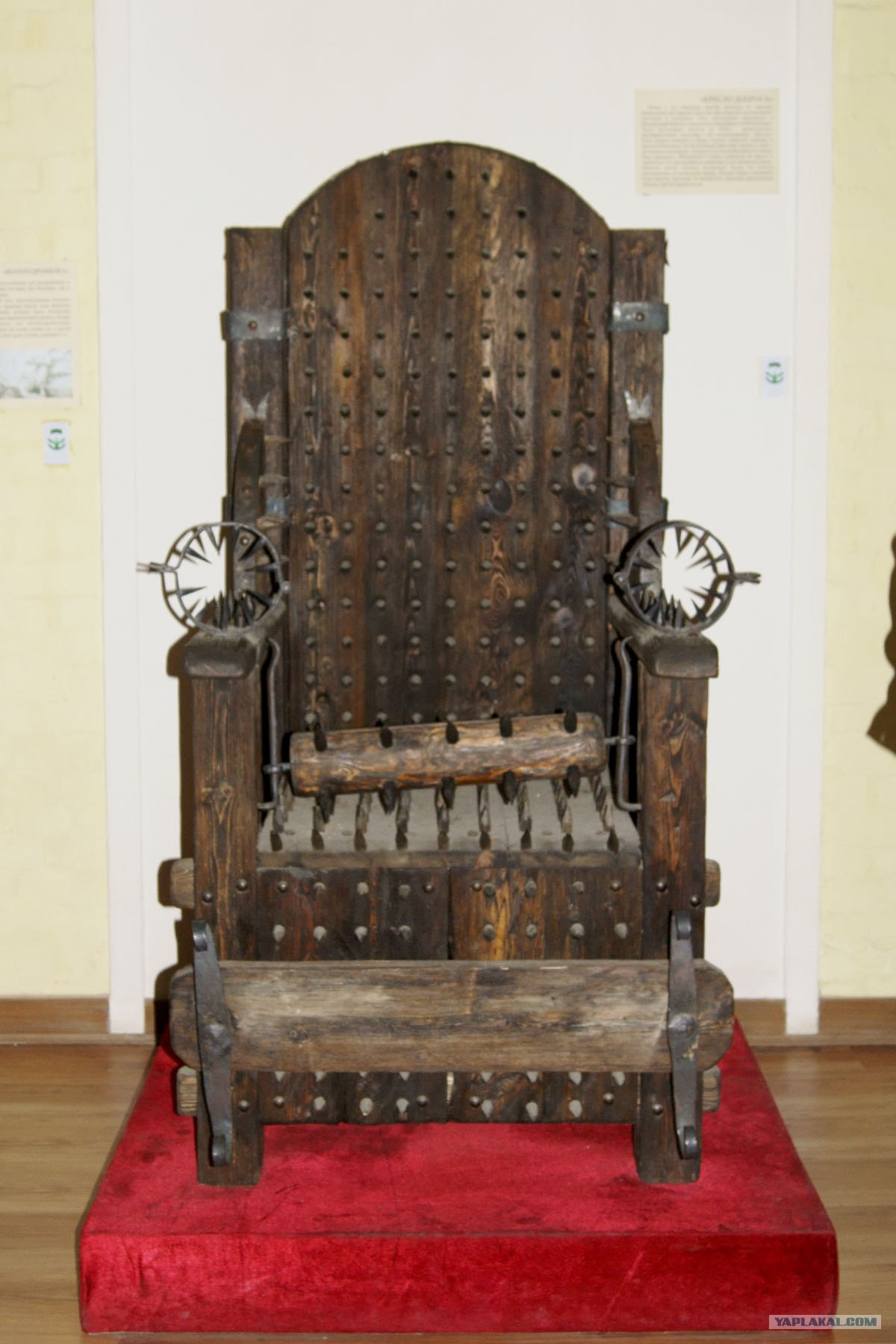 Milf medieval torture chair nackt image