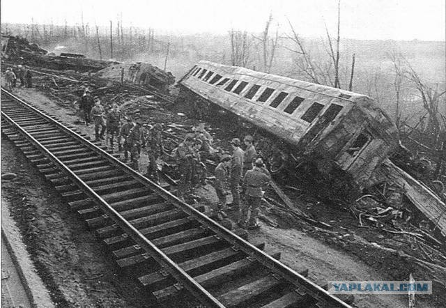 Взрыв поезда 3 июня 1989 года: почти атомная катастрофа