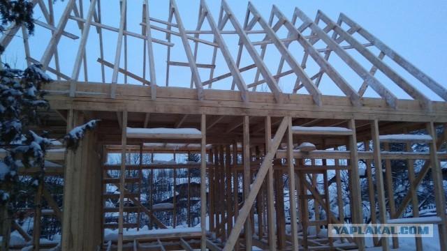 Как мы с братом дом строим