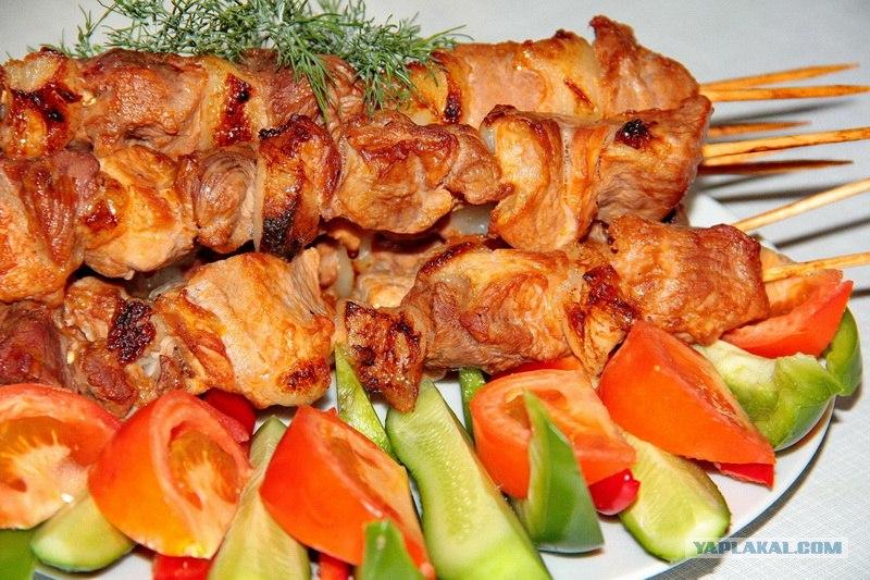 Мясо на шпажках пошагово 69