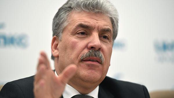 Грудинин получит депутатский мандат Жореса Алферова