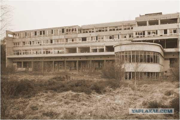Путешествие по заброшенному санаторию