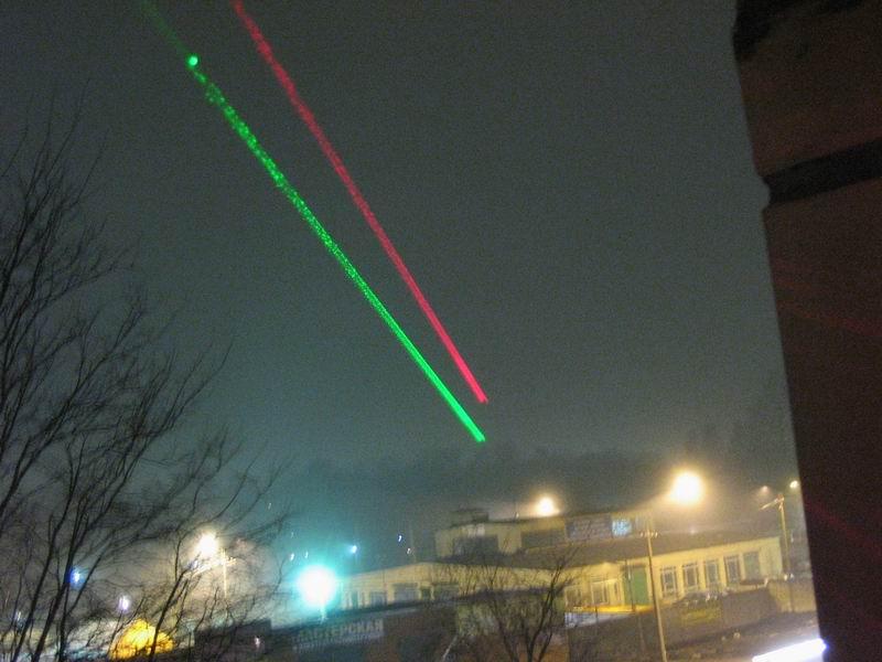 Делаем лазер из фонарика и