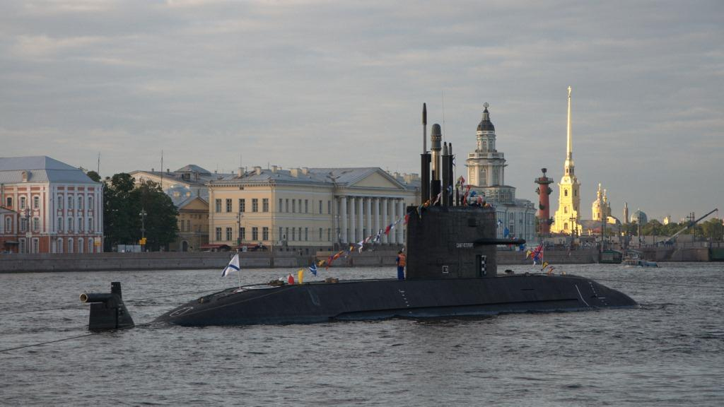 санкт петербург подводная лодка