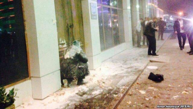 Нападение на Игоря Каляпина в Грозном