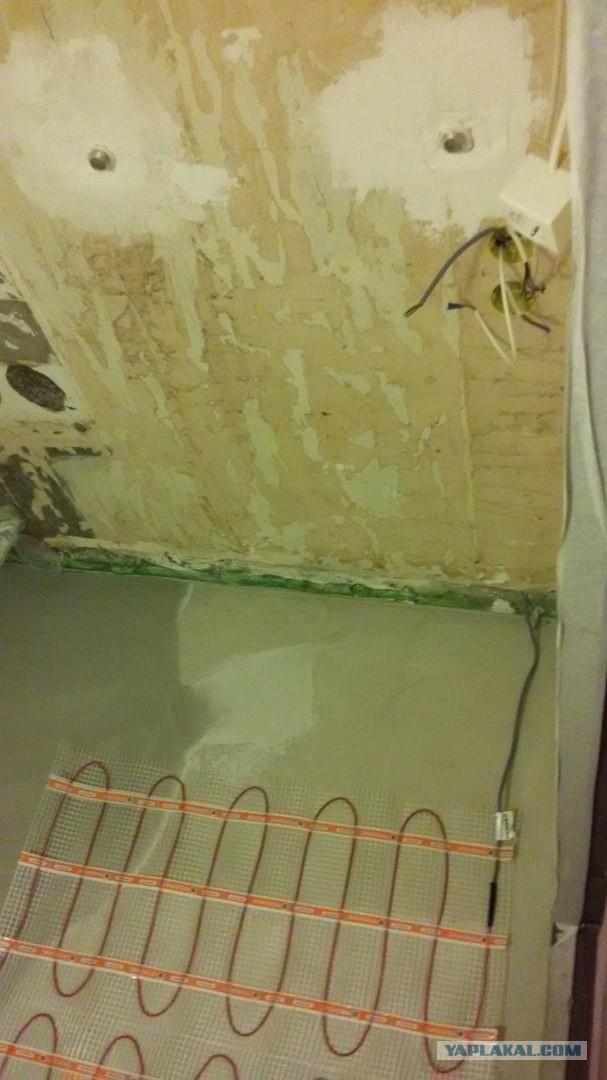 Как я ремонт в ванной запилил