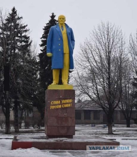 Российский суд осудил двух новосибирцев за покраску памятников Ленину в цвета украинского флага - Цензор.НЕТ 3071