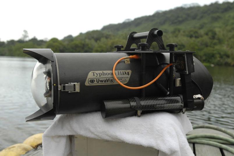 Typhoonhd4: Видеокамера за $100000