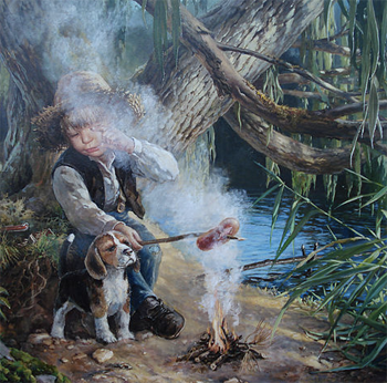 Добрые картины Владислава Леоновича