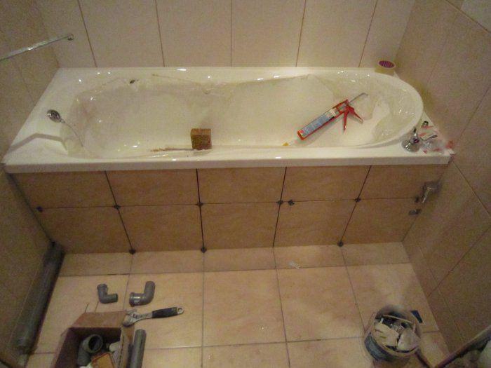 Уголок ванны ремонт своими руками 52