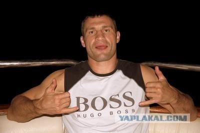 Виталий Кличко любит сниматься и снимать
