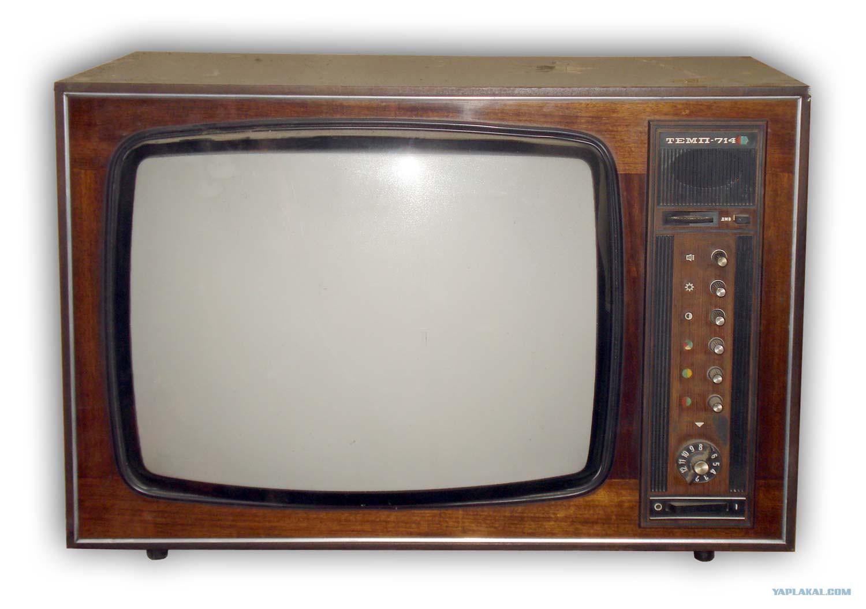 схема советского лампового цветного телевизора