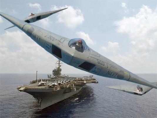 Самый большой распил Пентагона: проект A-12 Avenger