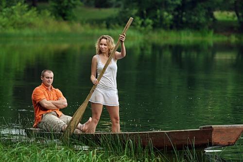 двое в лодке семья
