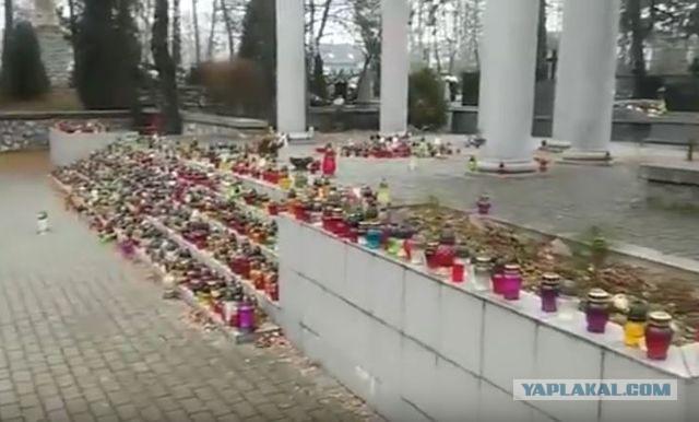 Поляки почтили память павших советских солдат