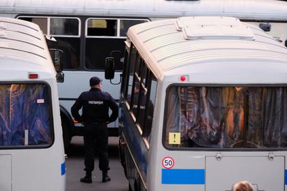 Задержан напавший наполицейского вМоскве мужчина