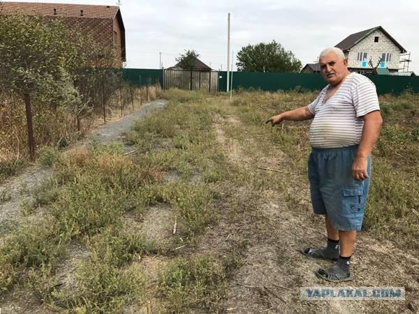 Под Ростовом пенсионеры лишились земли из-за притязаний соседа-пристава